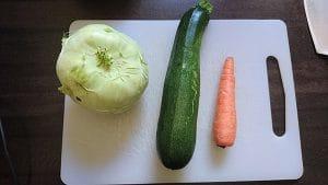 Gemüse Spaghetti Schneider Test
