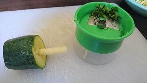 Gemüse Spaghetti Zucchini