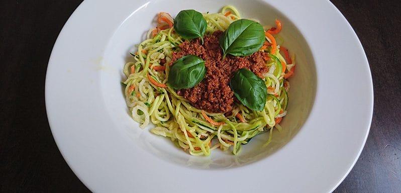 Gemüsenudeln Gemüse Spaghetti Schneider