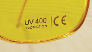 Farbtherapie-Brille UV Schutz