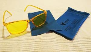 Farbtherapiebrille Lieferumfang
