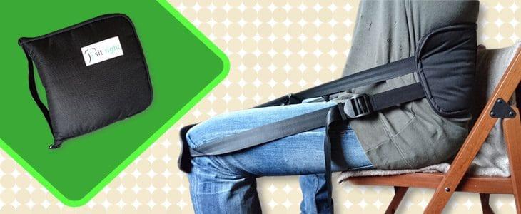 Lendenwirbelstütze Im Test Wie Sitzt Es Sich Mit Einem Rückengurt