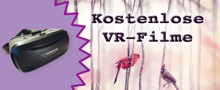 Filme für VR Brille
