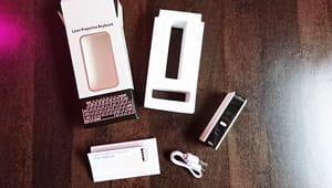 Lieferumfang Laser Tastatur