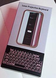 Test Laser Tastatur