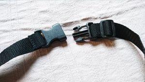 Die Träger des Rucksacks sind individuell verstellbar und besitzen praktische Schnallen