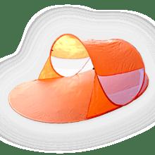 Wurf Strandmuschel