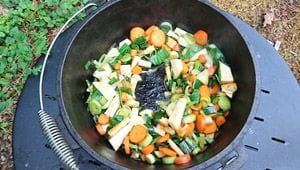 angebratenes Gemüse DOpf