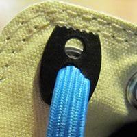 elastische Schnürsenkel binden