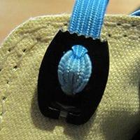 elastische Schnürsenkel verschliessen