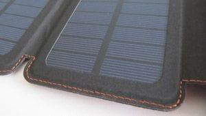 Powerbank mit Solarzelle