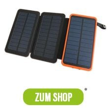Solar Powerbank Test Shop