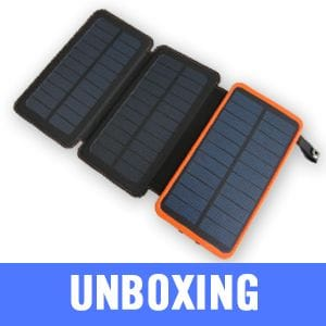 Solar Powerbank Unboxing Video