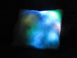 Kissen mit LED Beleuchtung