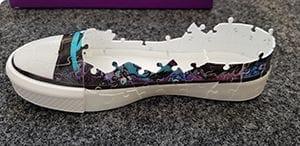 Ravensburger 3D Puzzle Sneaker bauen