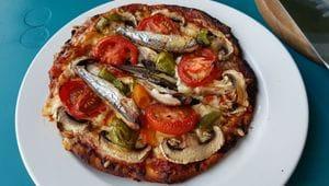 Pizza im Tandoor Test