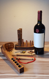 Material Weinflaschen Rätsel