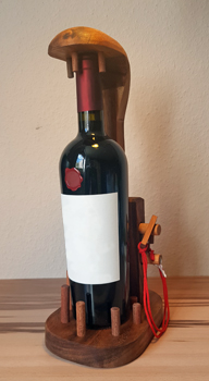 Weinflaschen Rätsel Idee